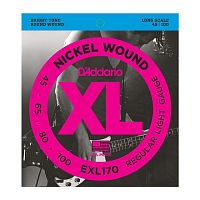 EXL170 Nickel Wound Bass, Light, 45-100.